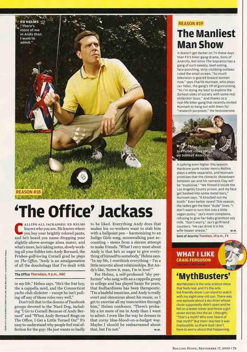 Rolling Stone - September 17, 2009