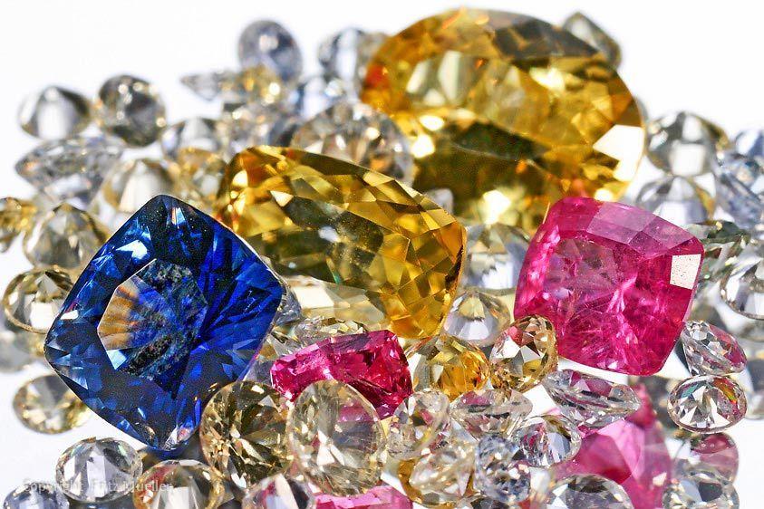 Cut gemstones, True North Gems, Whitehorse, Yukon
