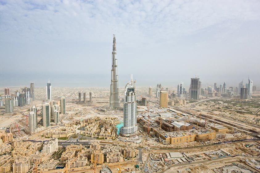The world's tallest building, the Burj Dubai, and world's largest mall, Dubai Mall, are under construction by Emaar Properties, Dubai, United Arab Emirates