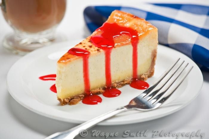 Strawberry Cheesecake Menu