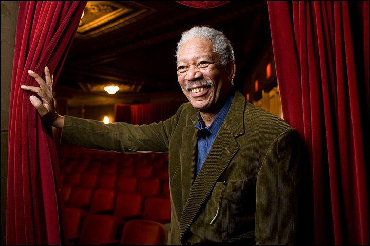 Morgan Freeman. NewYork Times