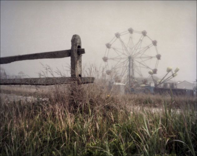 Carnival Fog, Tom Nevers, Nantucket, MA4x5 Pinhole Photograph