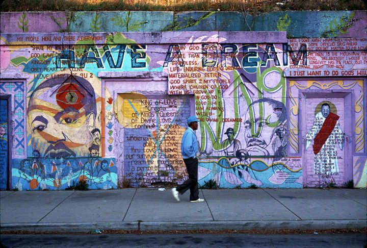 Have a Dream mural, Dr. Martin Luther King, Jr. Drive, Chicago, Il