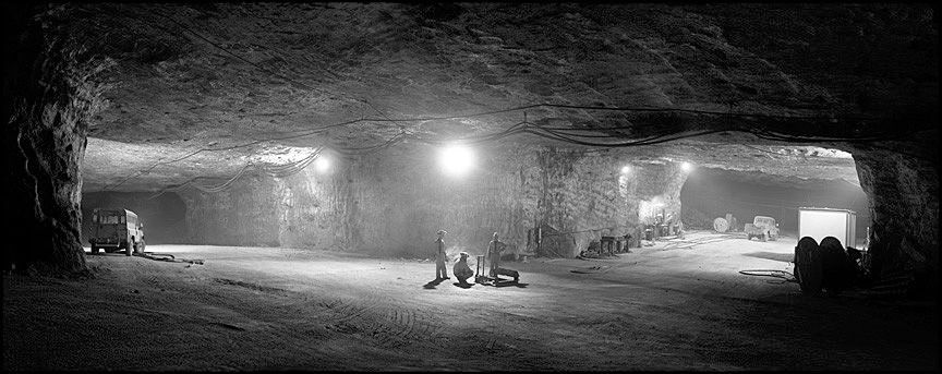 Salt MIne in Carrickfergus, Northern Ireland.