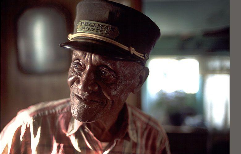 Johnny Mac Brown, retired Pullman Porter, Jackson, Mississippi