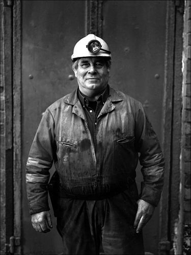 Salt MIne worker, Carrickfergus, Northern Ireland.