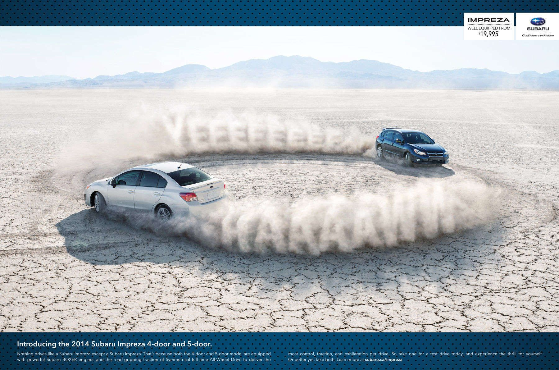 Client > Subaru / Agency > DDB, Paul Riss / Post > Taylor James