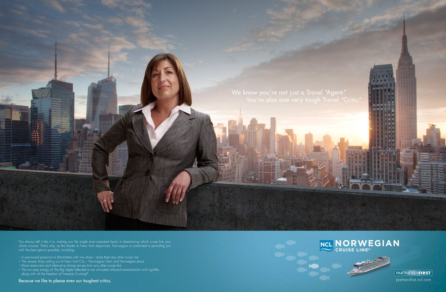 Client > Norwegian Cruise Line / Agency > RR Partners