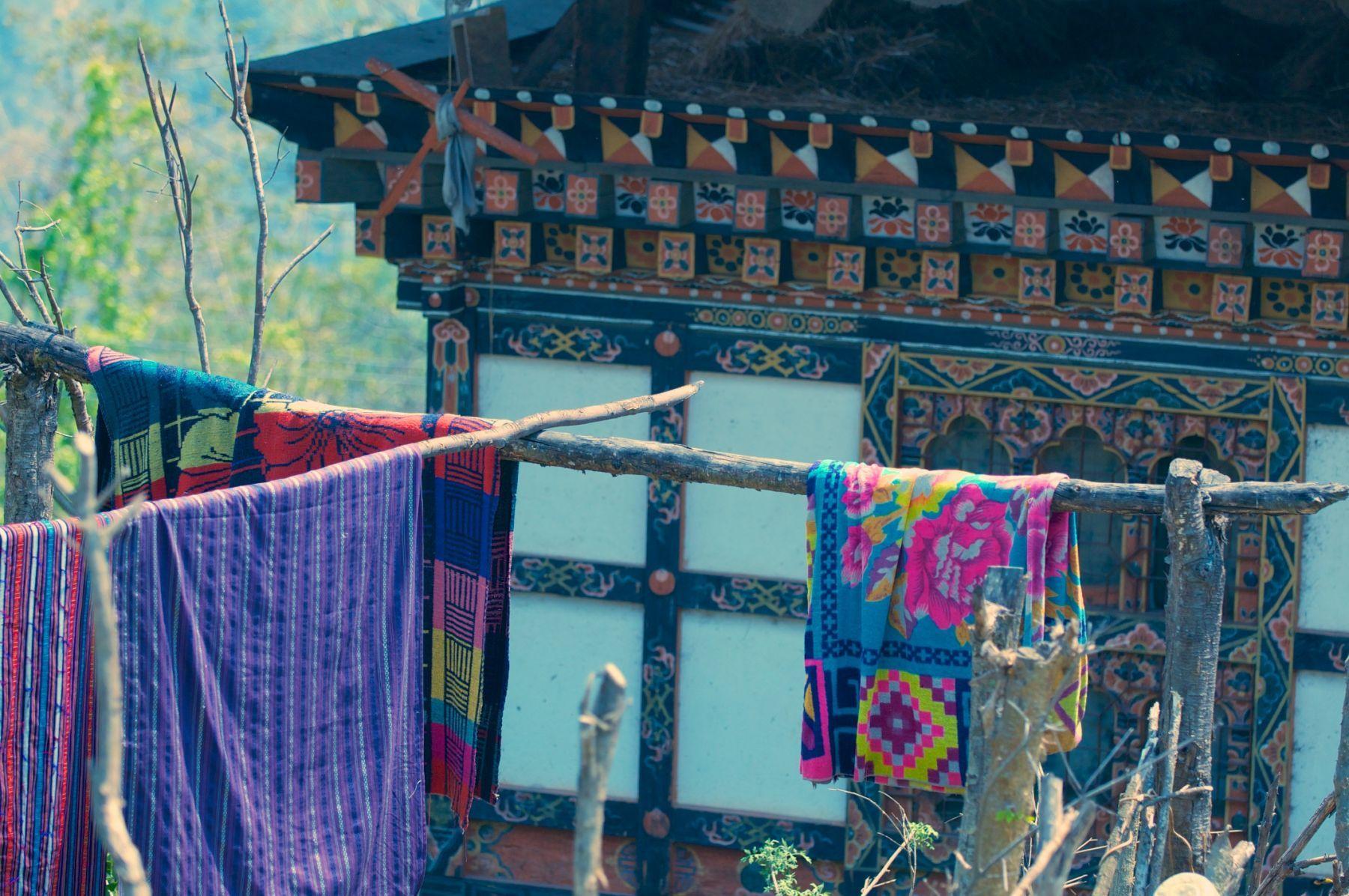 Bhutanese laundry