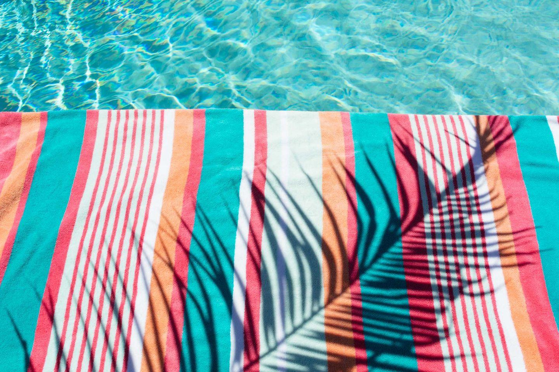Tropical vacation still life