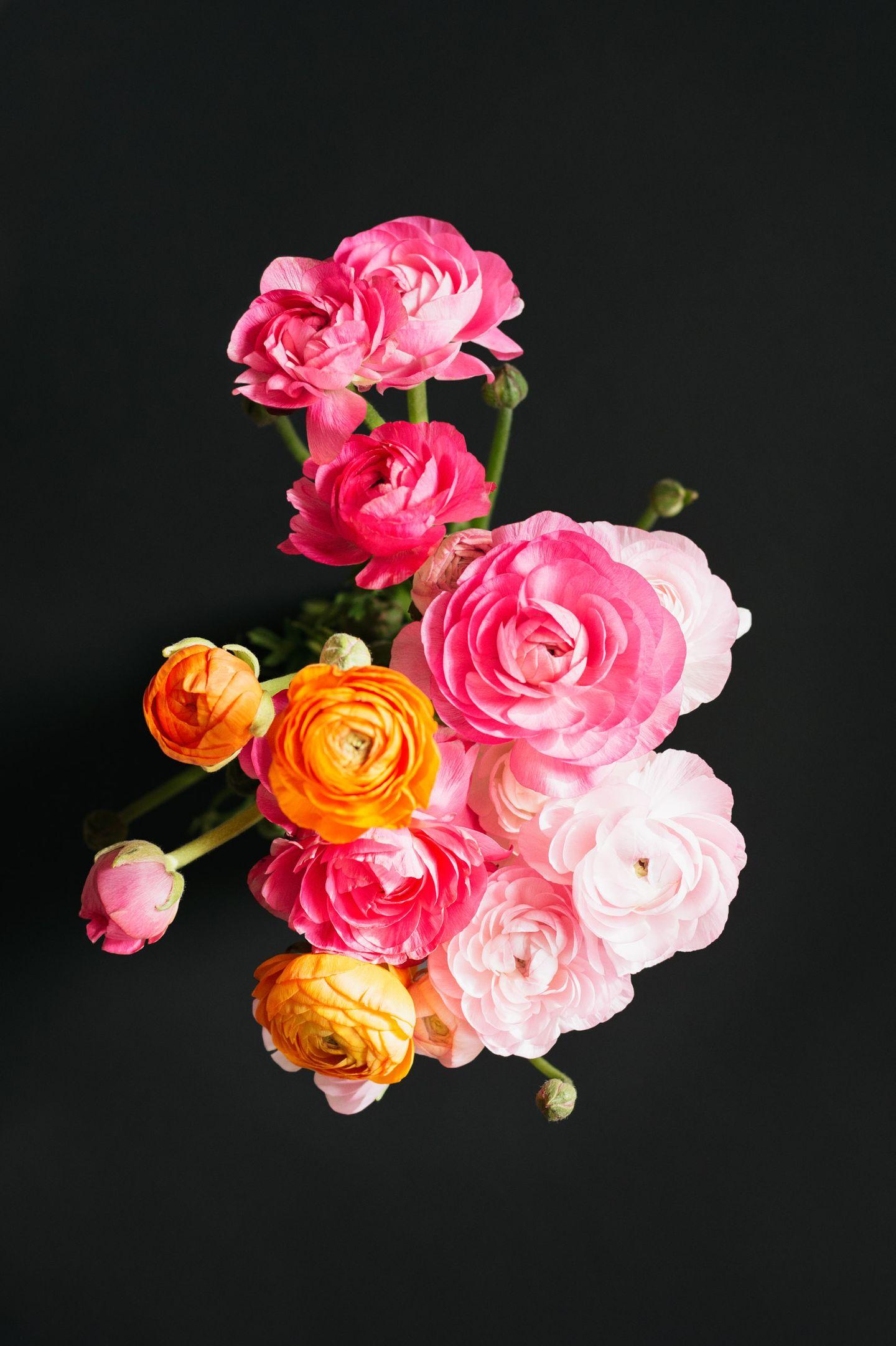 Ranunculus floral bouquet