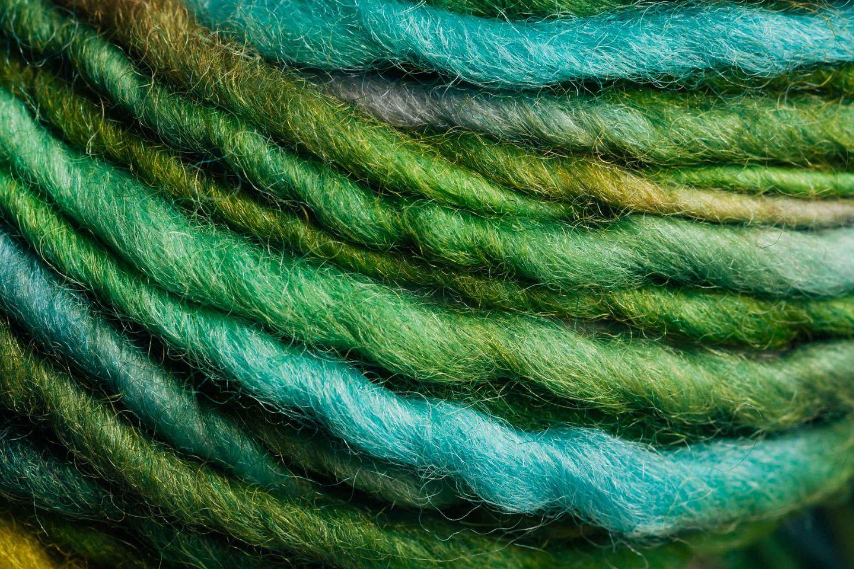 Wool yarn background