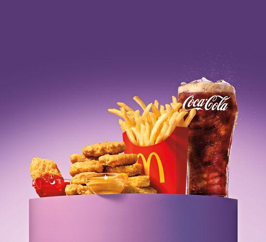 McDonald's and BTS Translite