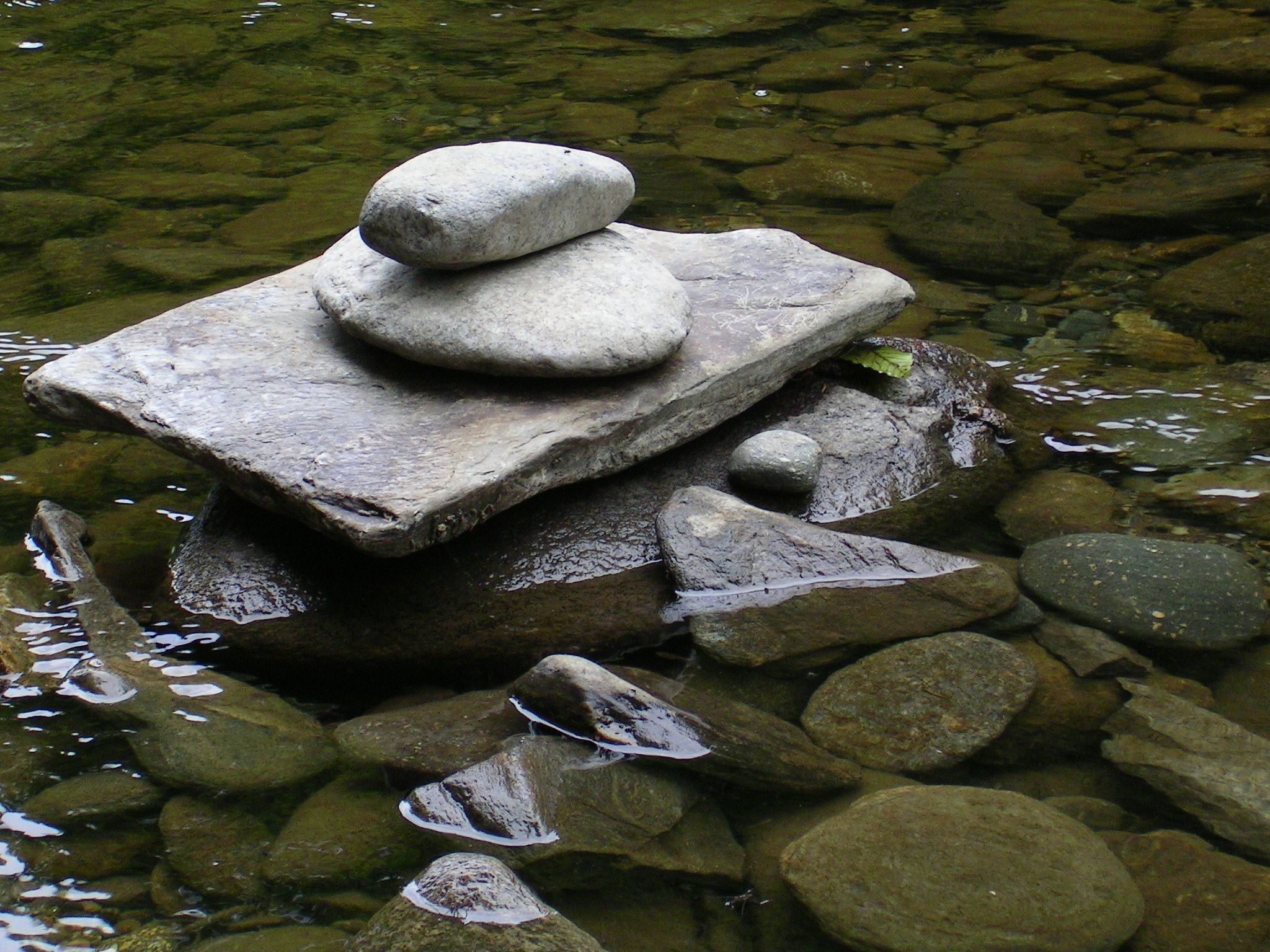 Stacked Stones, Green River
