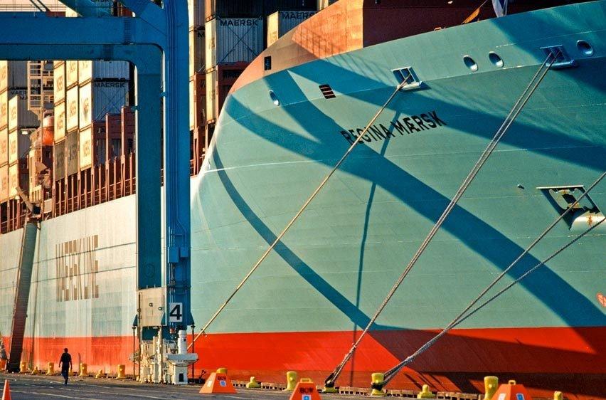 Port Newark, New Jersey for Maersk