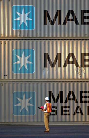Port Newark for Maersk