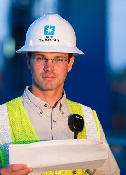 Port Worker, Port of Charleston
