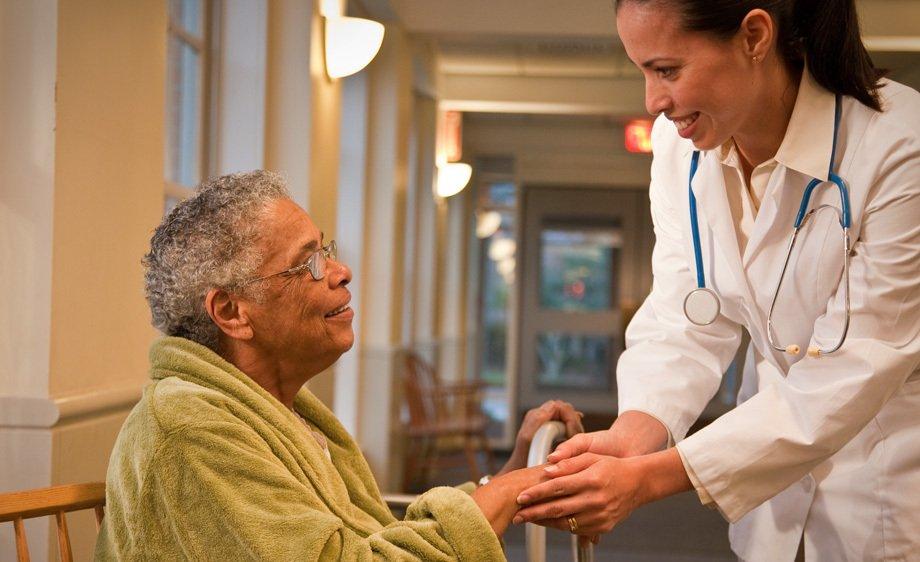 Doctor & Elderly Patient
