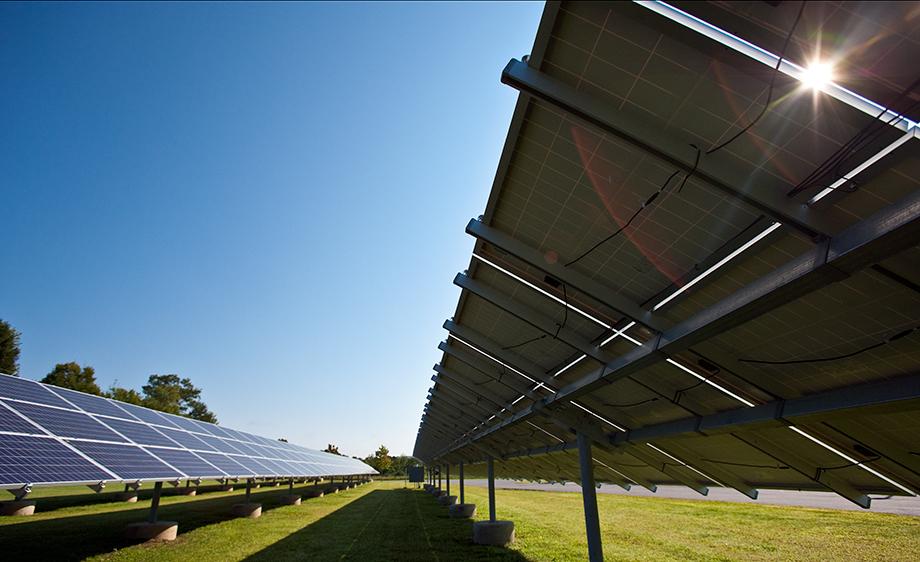 Solar Panels, Vermont.