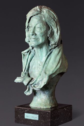 Ann Nicholson, lifesize bronze; commission.