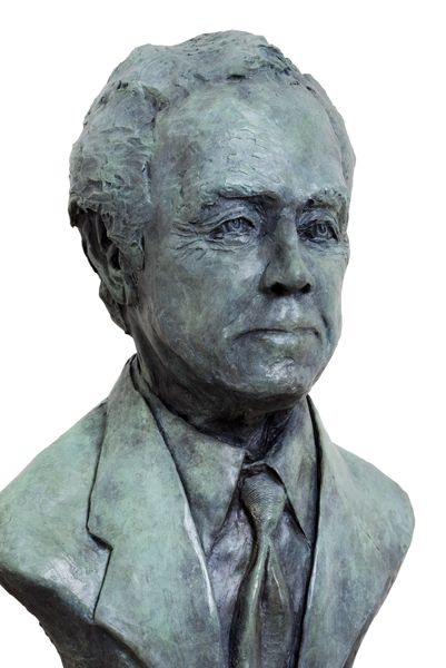 James Nicholson, life-size bronze; commission.