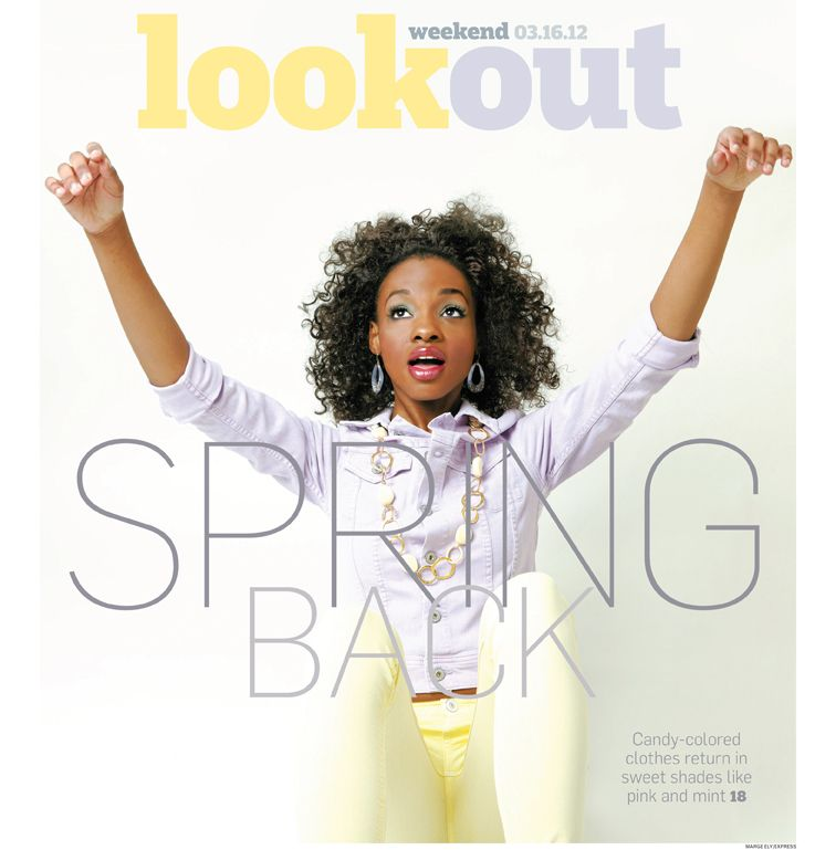 Spring Fashion Story for The Washington Post Express