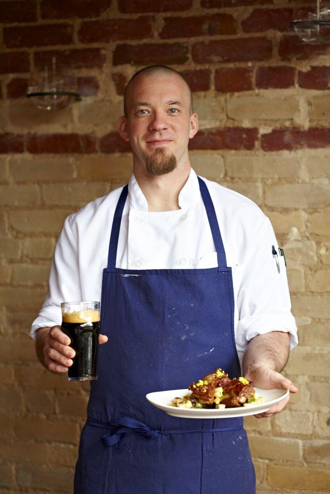 Chef Kyle Bailey, of Birch & Barley, Washington DC