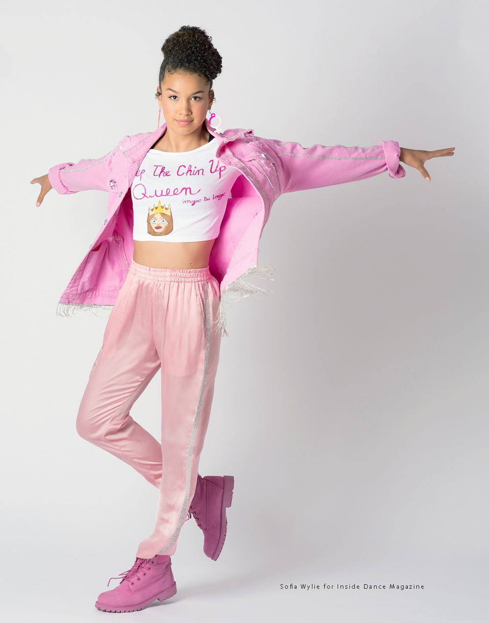 Sofia Wylie for Inside Dance Magazine