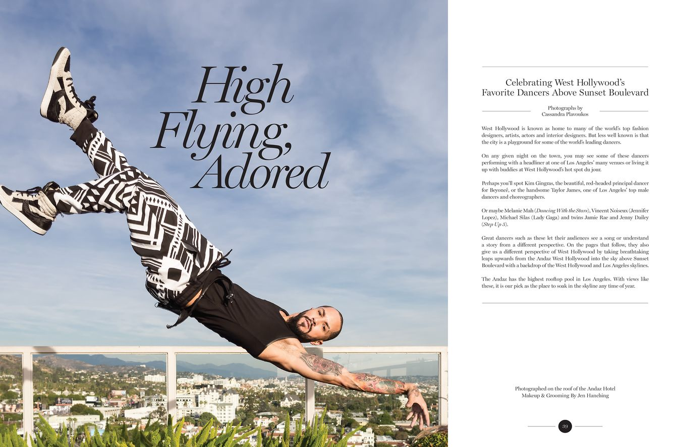 Michael Silas by Cassandra Plavoukos for West Hollywood Magazine