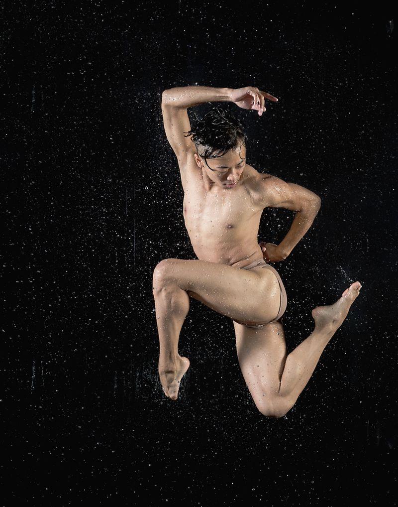Brett Yamanaka  In Water by Cassandra Plavoukos