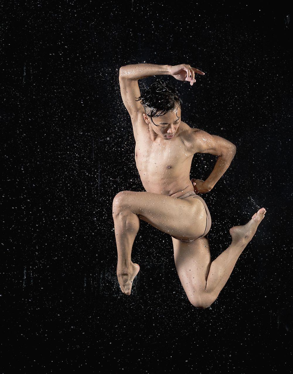 Brett Y. In Water