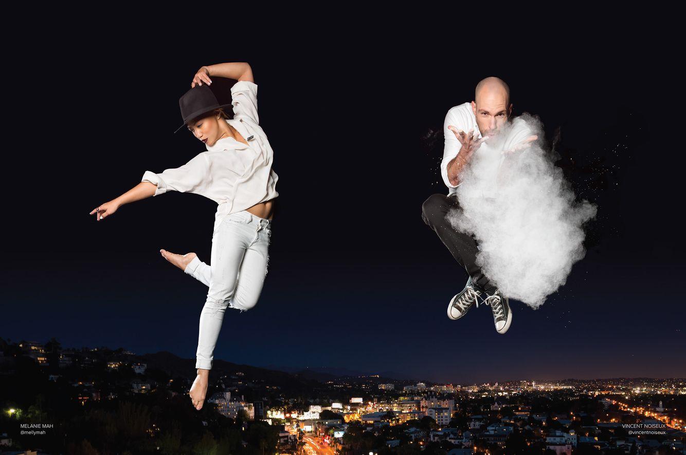 Melanie Mah and Vincent Noiseux by Cassandra Plavoukos for West Hollywood Magazine