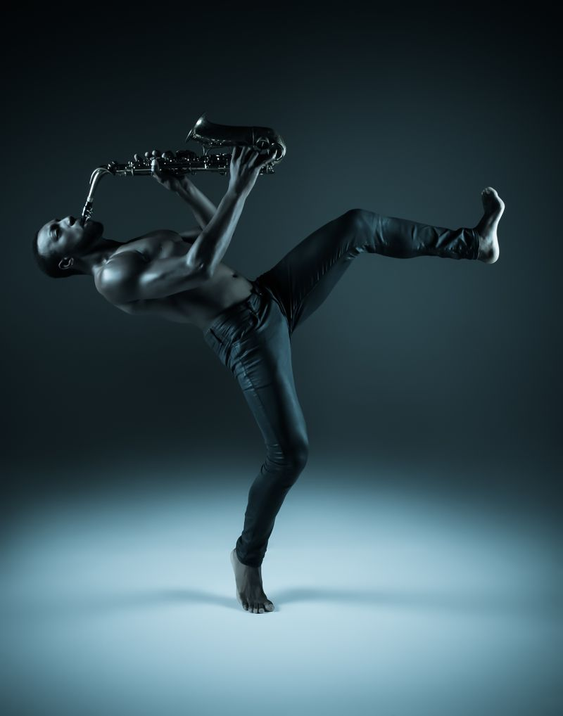 "Claythan Conerly by Cassandra Plavoukos for ""Music + Dance = Love I"""