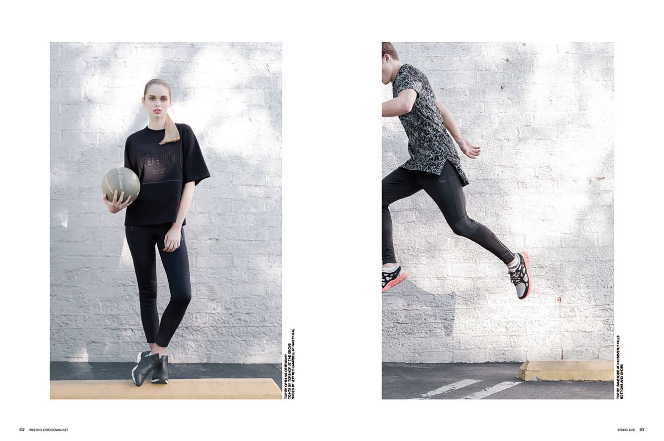 Cassandra Plavoukos for West Hollywood Magazine