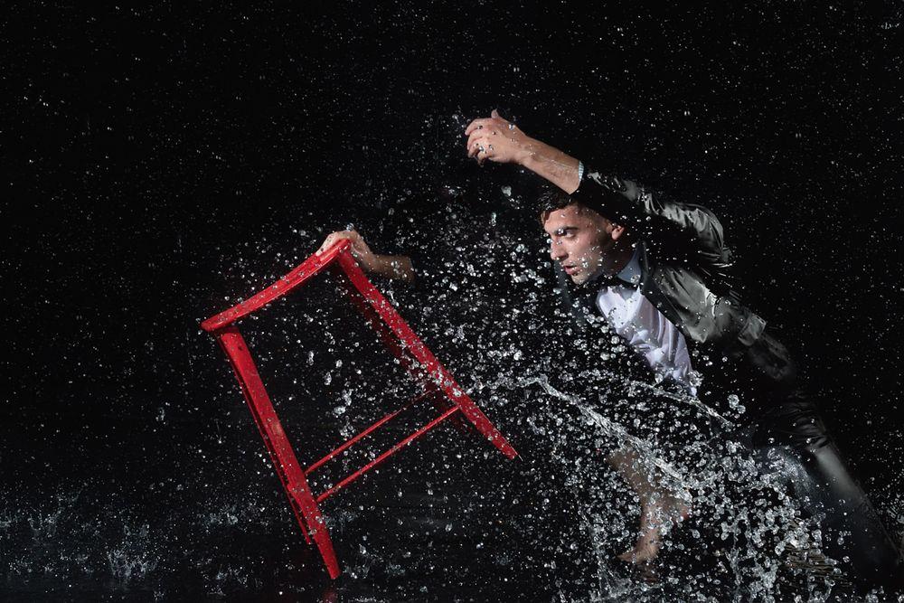 Jan Ravnik In Water