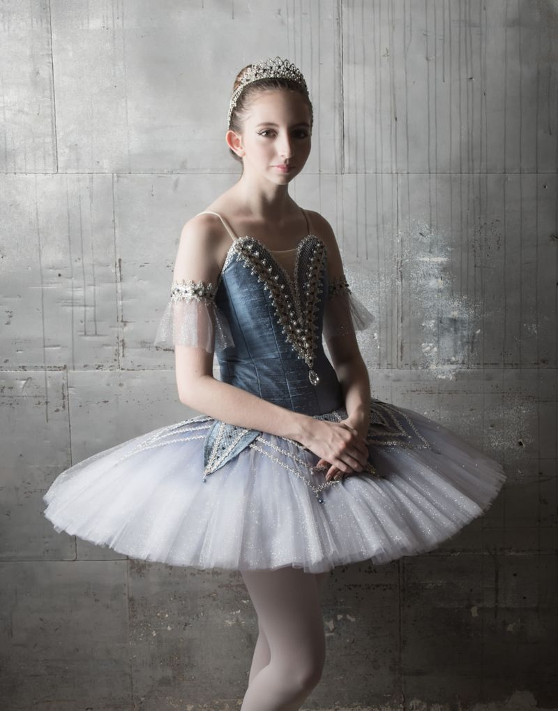 Beautiful Ballerina portrait