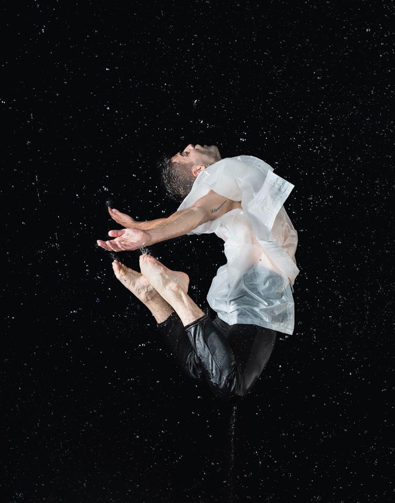 Jan Ravnik In Water by Cassandra Plavoukos