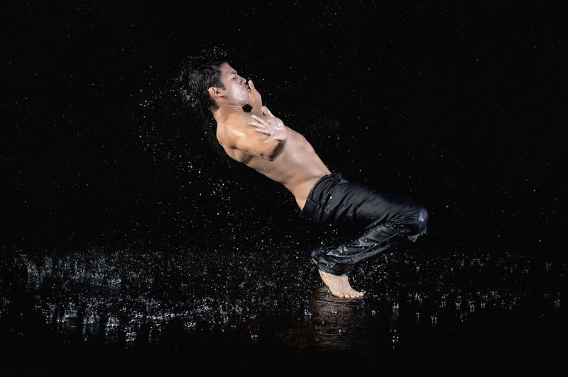 Raihan Baqui In Water by Cassandra Plavoukos