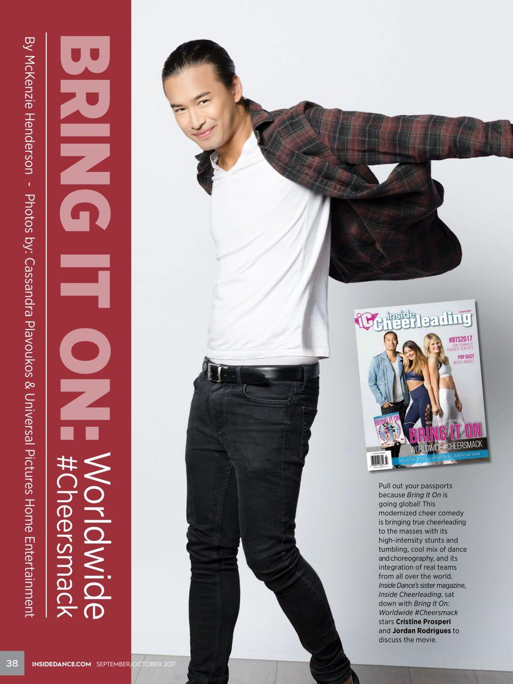Jordan Rodriguez for Inside Cheerleading Magazine