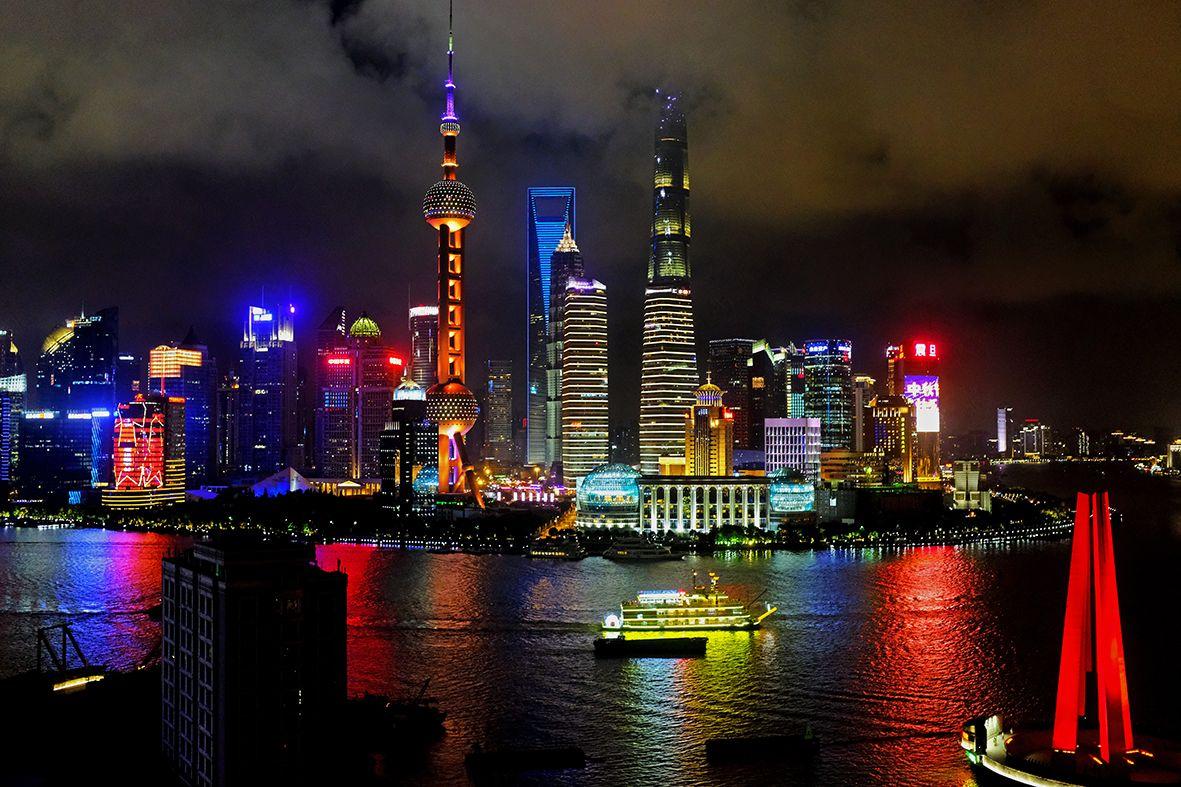 Pudong on the Huang Pu River DSCF1682.jpg