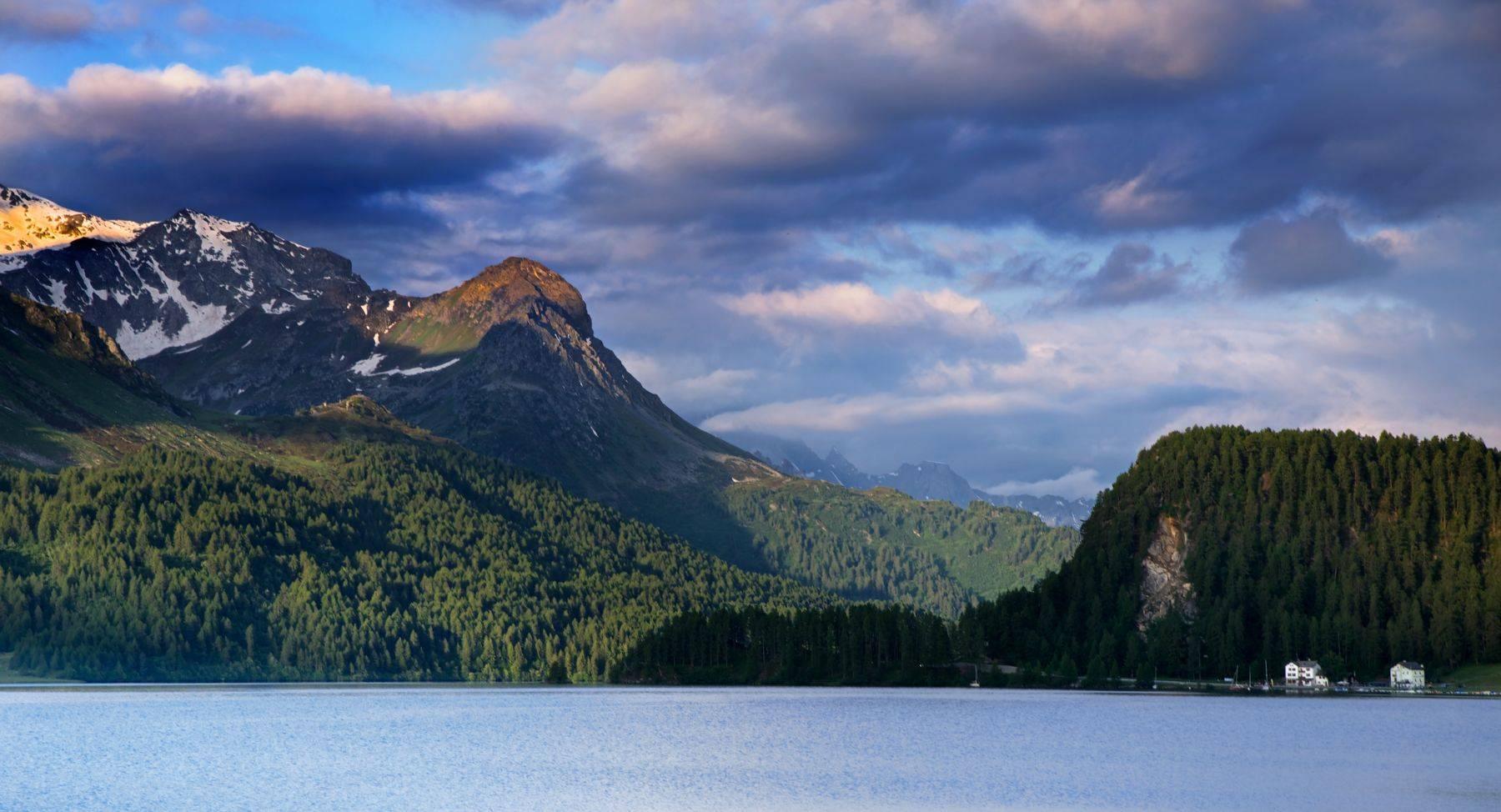 Lake St. Moritz, Switzerland