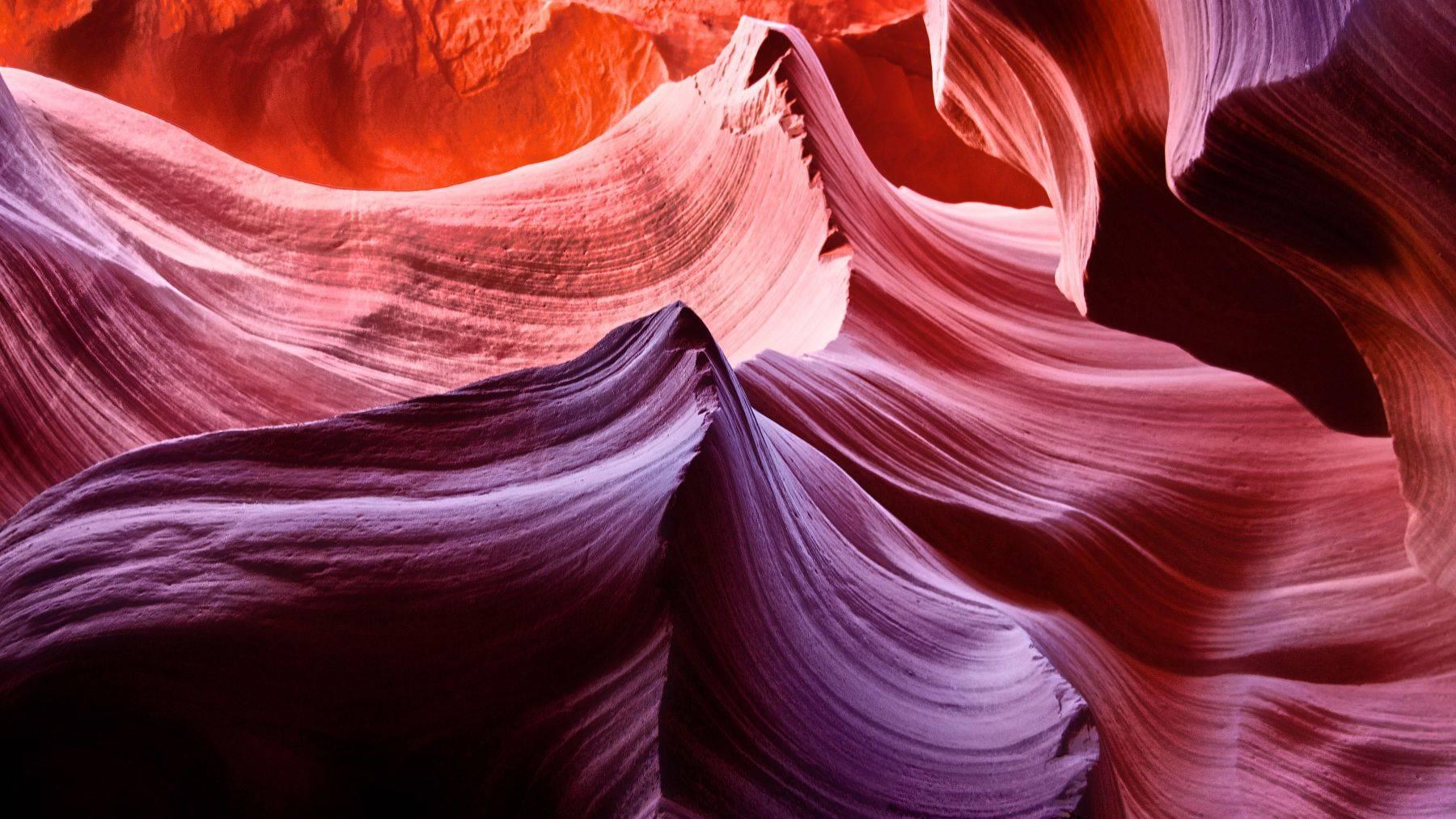 Slot canyons, Arizona