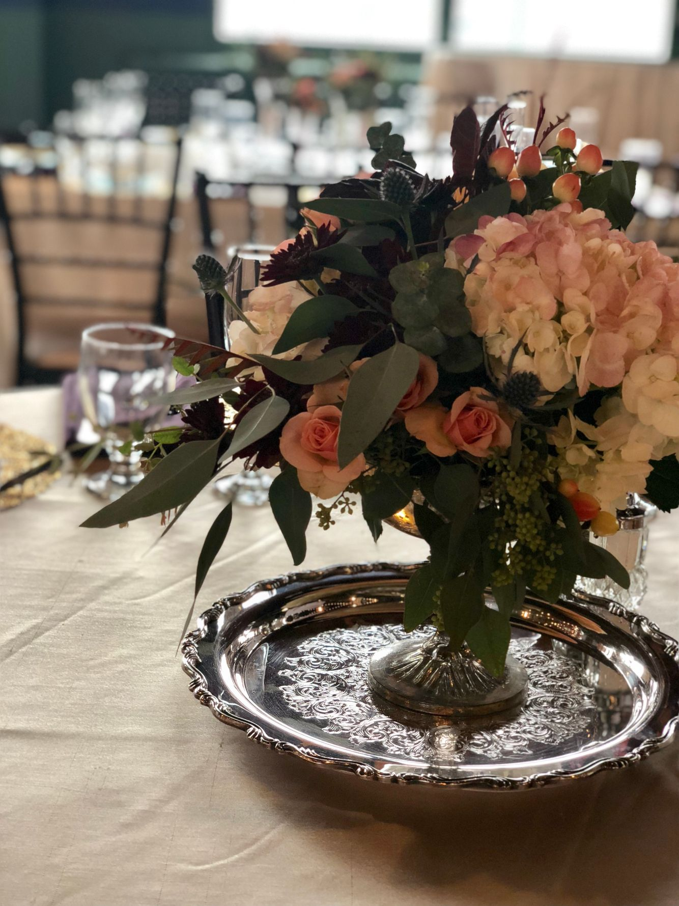 Guest Table Centerpiece