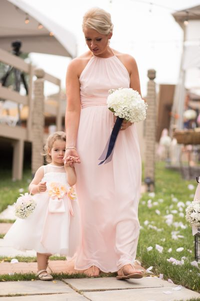 Classic Hydrangea Bridesmaid Bouquet