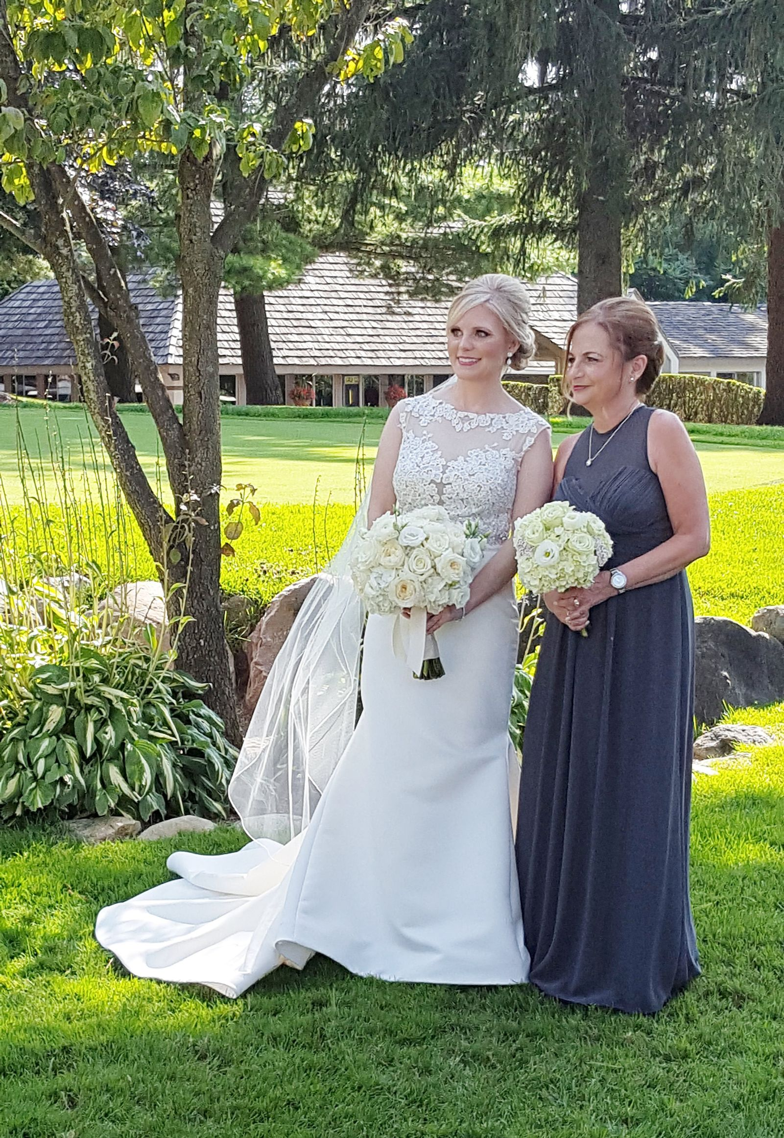 Bride and Bridesmaid,  Pine Knob