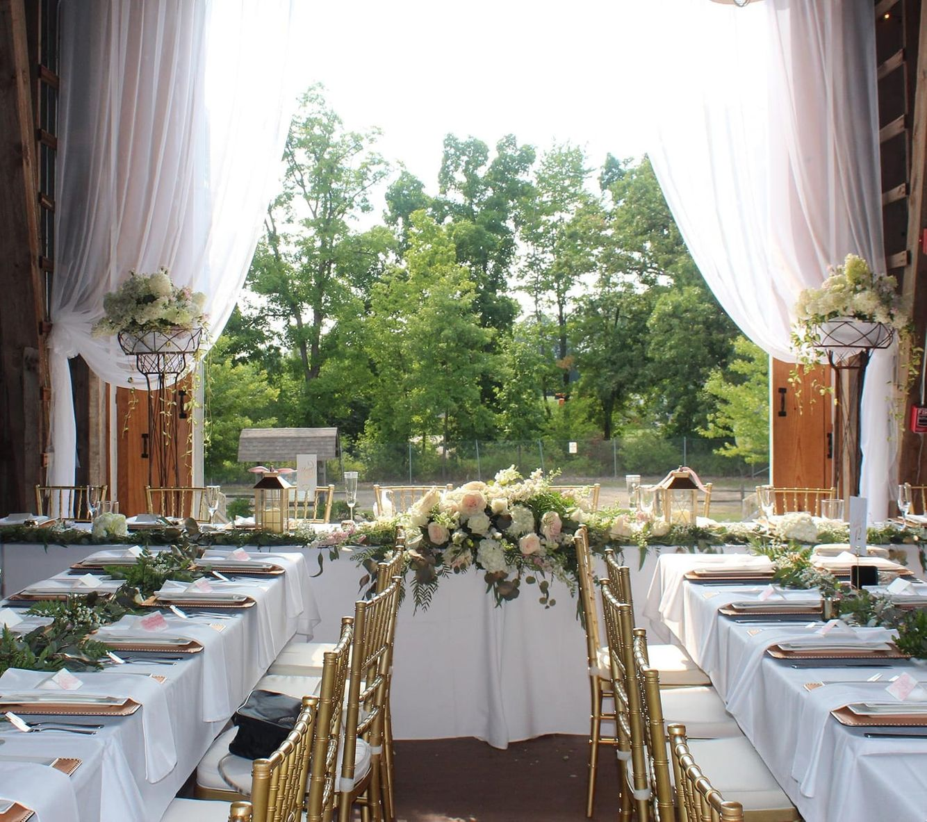 Head Table, Ellis Barn