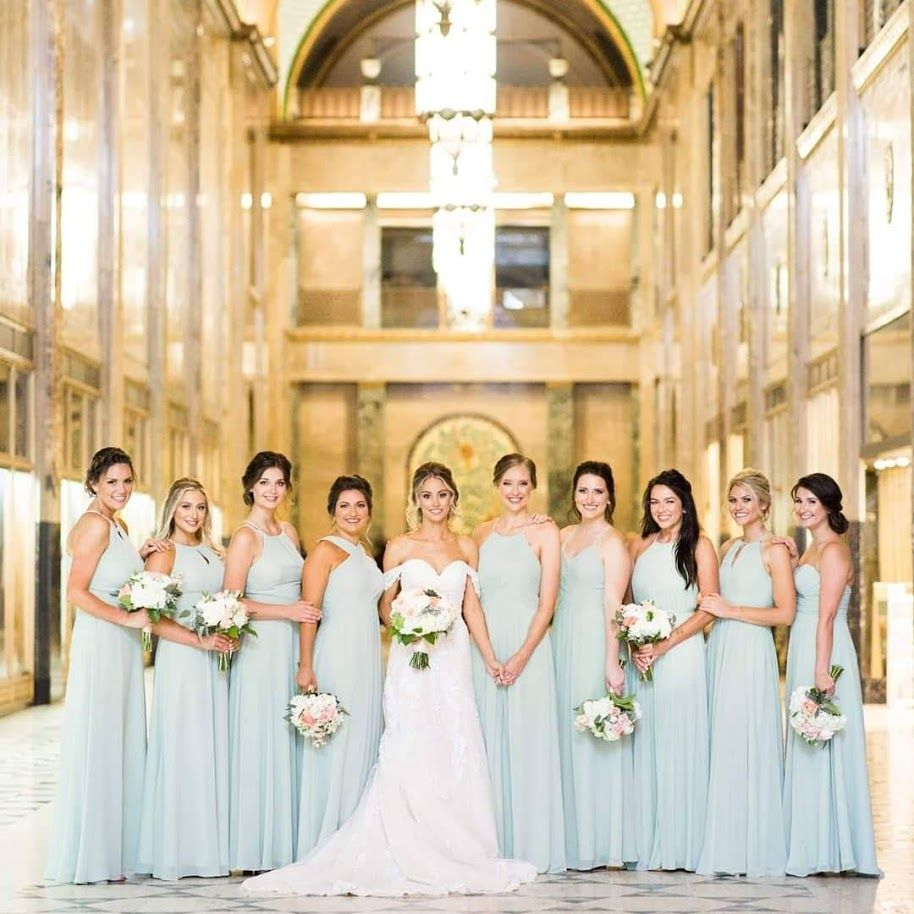 Bridal Party Flowers, Colony Club