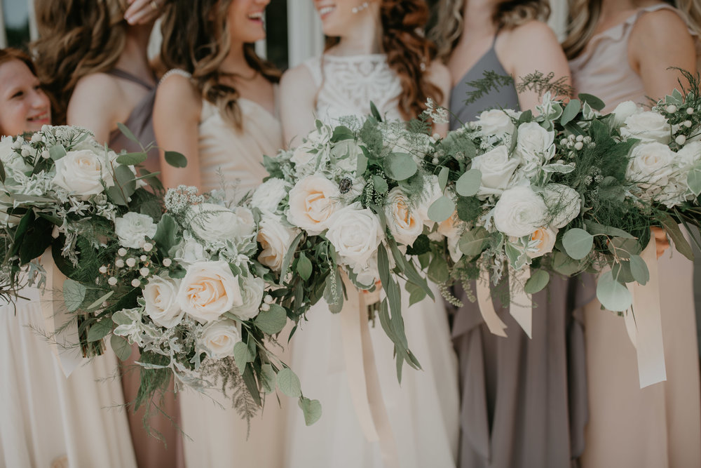 Boho Chic Meadow Bouquets