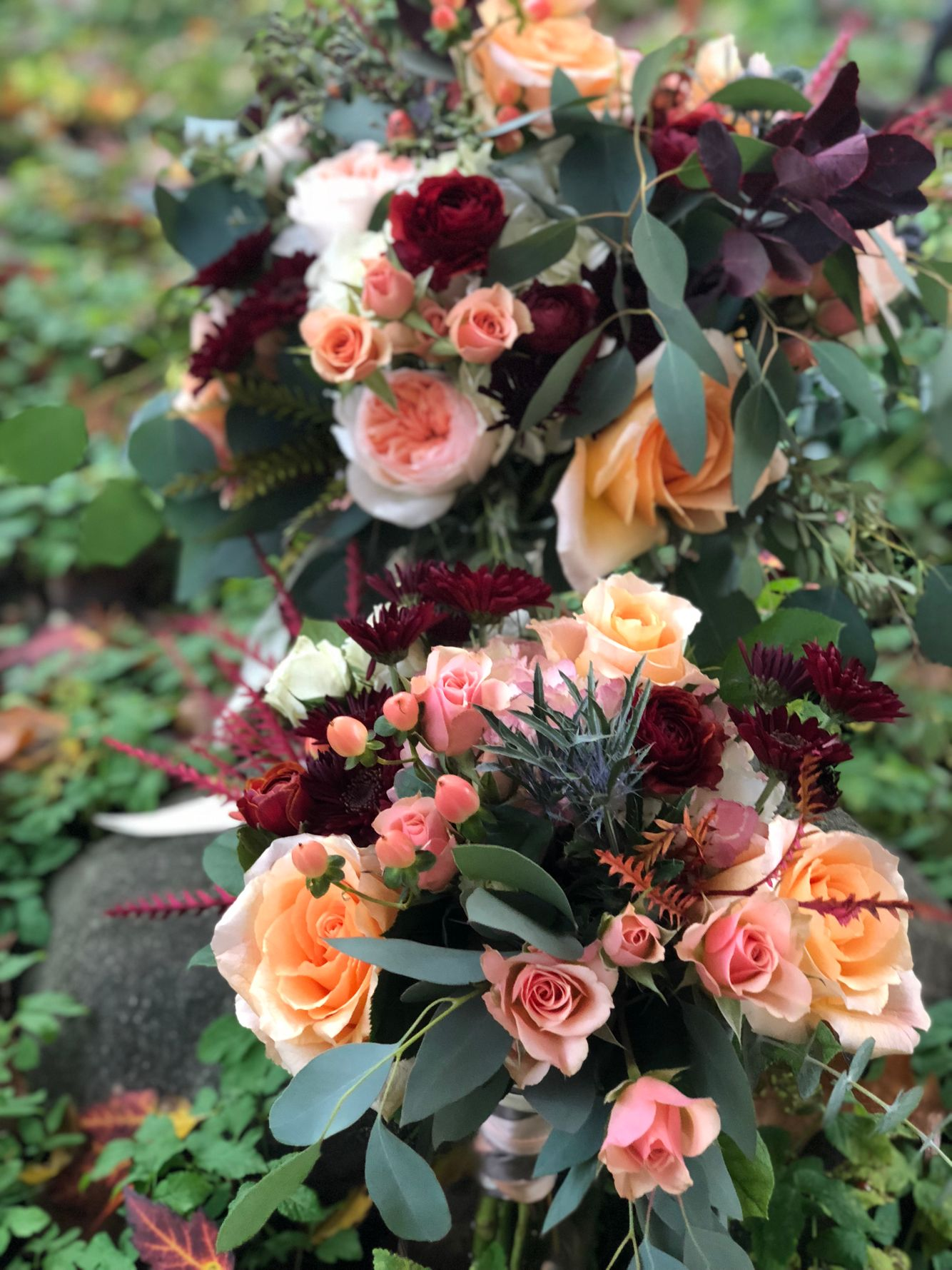 Bridal Party Bouquets,  Packard