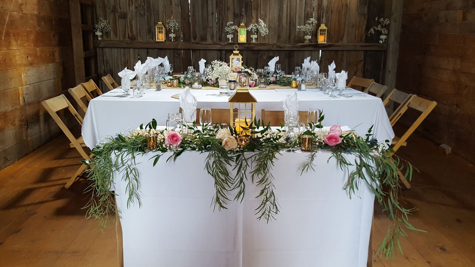 Sweetheart Table, Ellis Barn